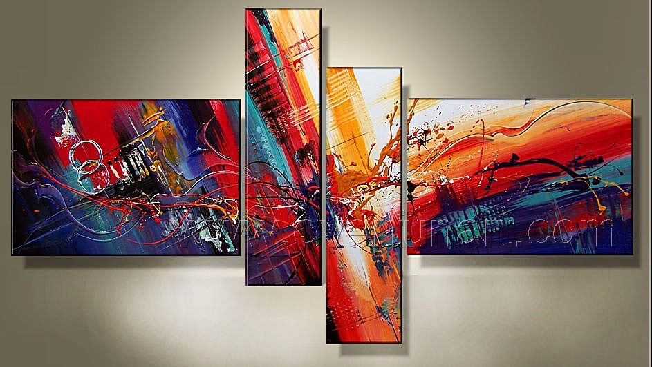 simple abstract paintings cheap canvas art china oil painting 100 hand painted